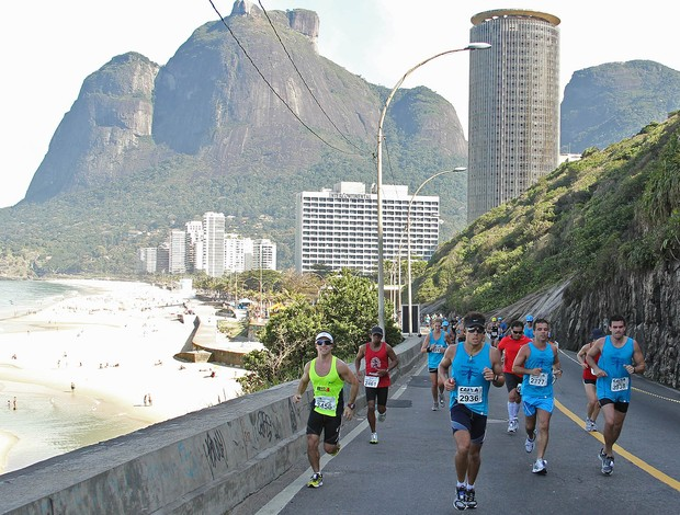 The course is not easy - this city has many hills!